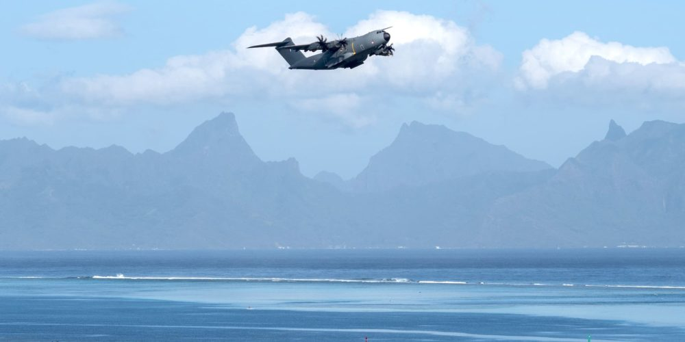 French Air Force A400M [F-RBAQ] à Tahiti