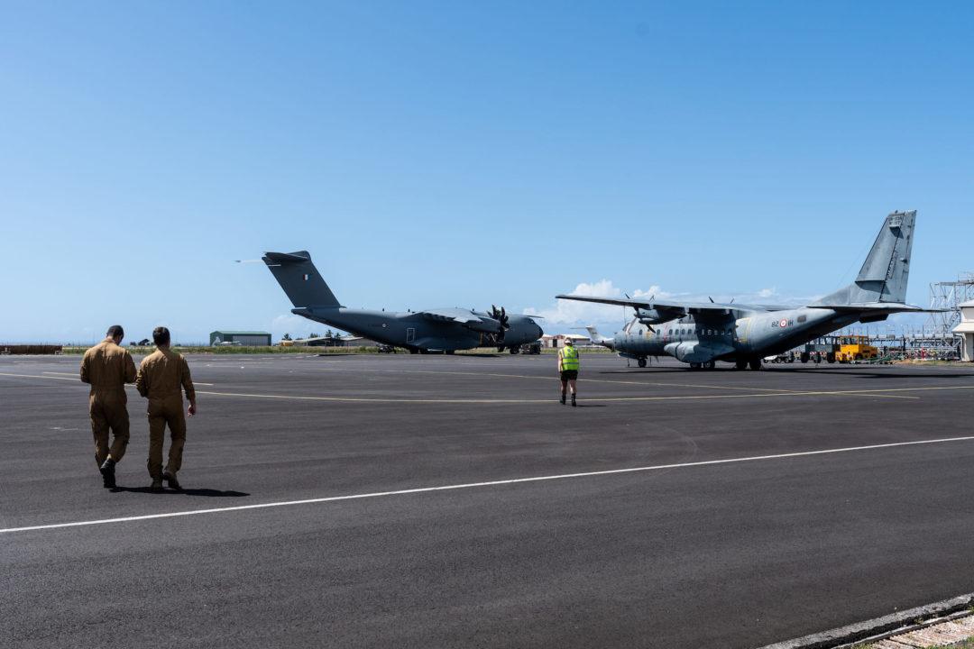 French Air Force A400M [F-RBAQ] à Tahiti