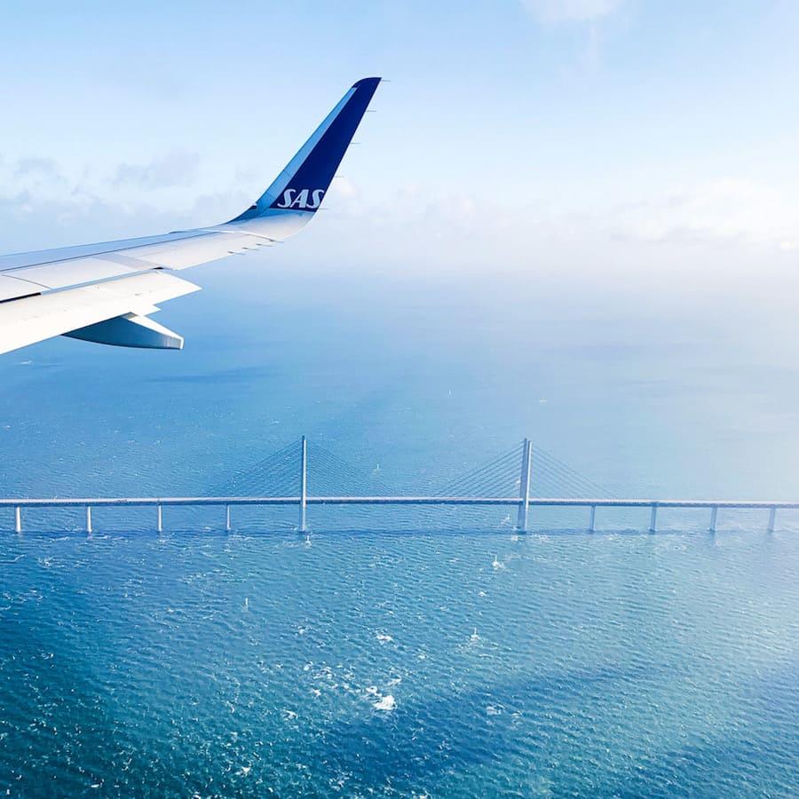 Winglet SAS en arrivant au Danemark