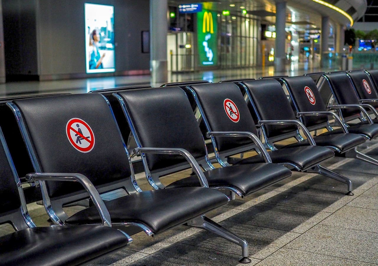 Terminal Aéroport COVID