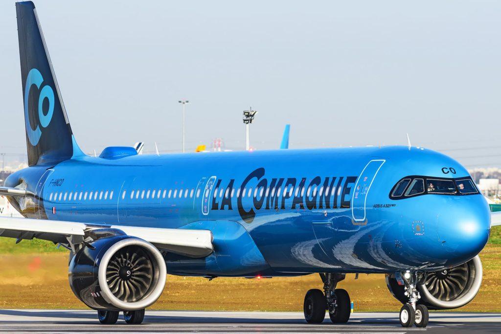 La Compagnie A321LR F-HBCO