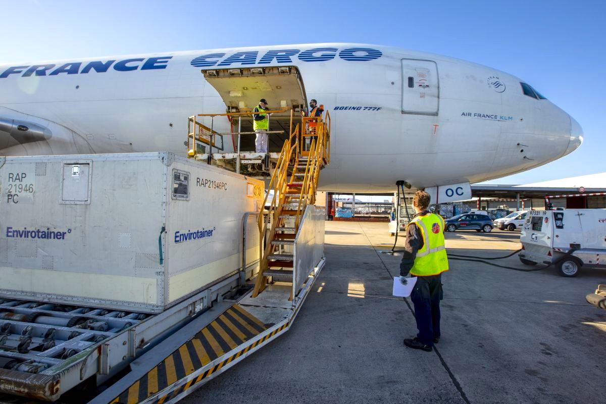 Boeing 777 Cargo Air France à Paris CDG