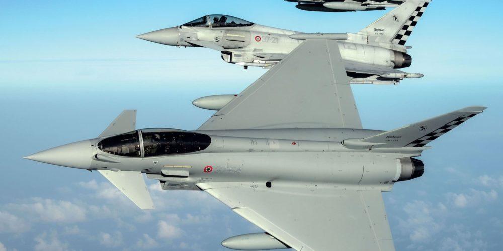 Eurofighter en vol