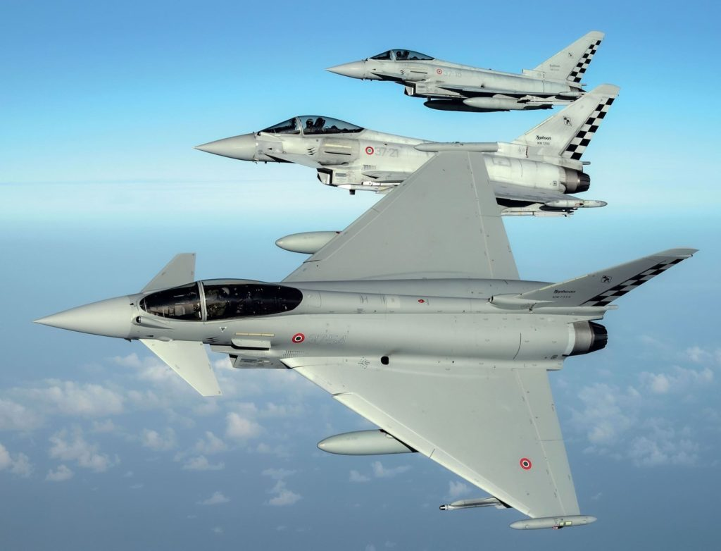 Eurofighter en vol