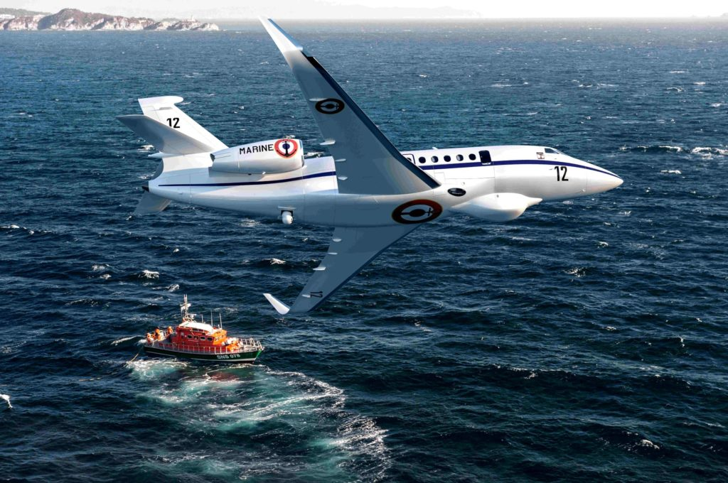 Falcon 2000 LSX « Albatros » Marine Nationale (France)
