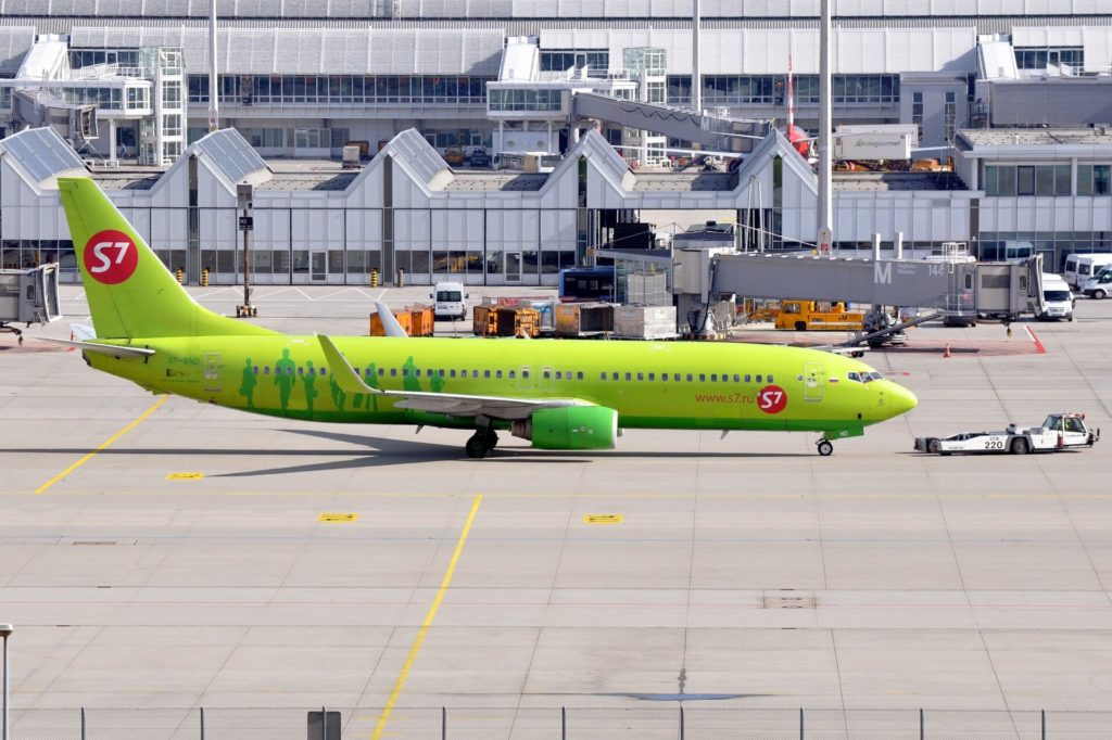 B737-83N S7 Airlines (MSN 28245 / LN 1054)