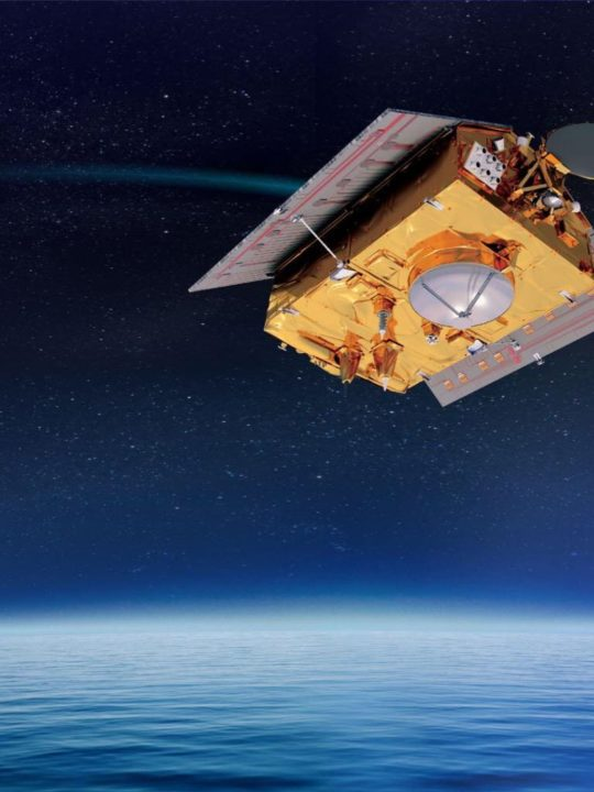 Vue 3D du satellite Sentinel-6