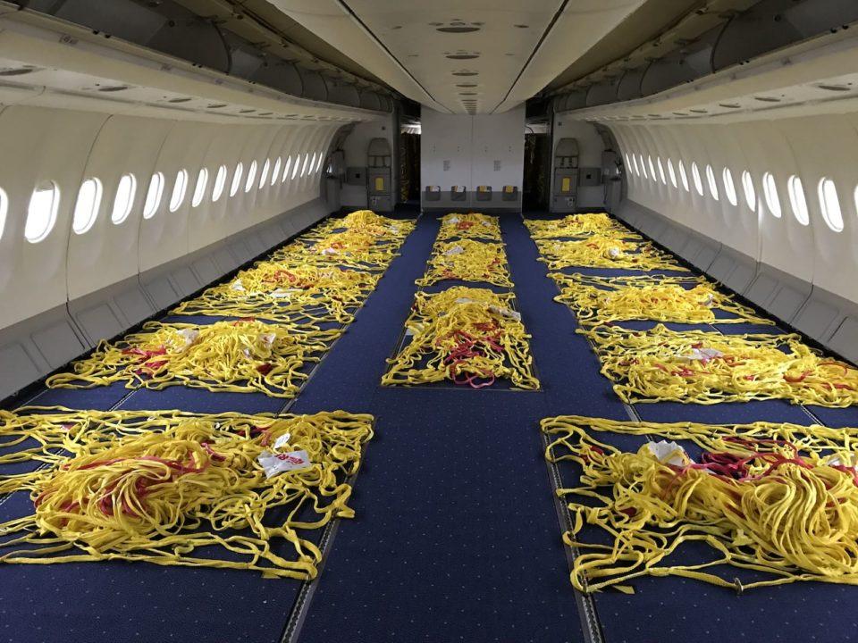Cabine de l'A330-300 Iberia en version Cargo