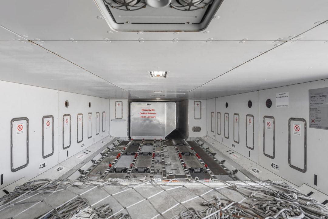 Soute de l'A380 HiFly Malta / 9H-MIP