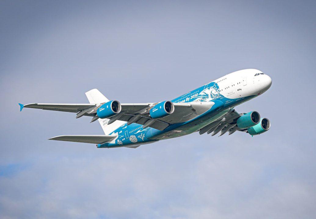 Low Pass de l'A380 HiFly Malta 9H-MIP à Toulouse le 17/12/2020