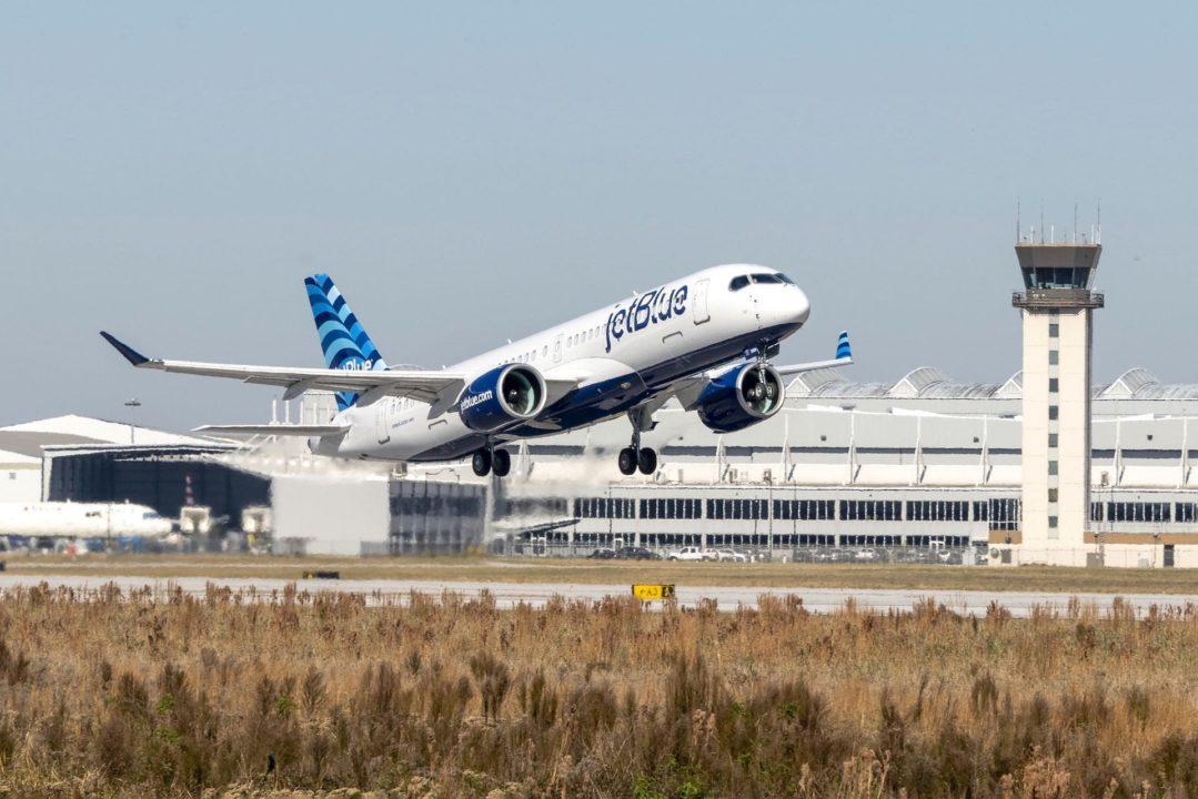 1er A220-300 JetBlue [MSN 55099] depuis Mobile