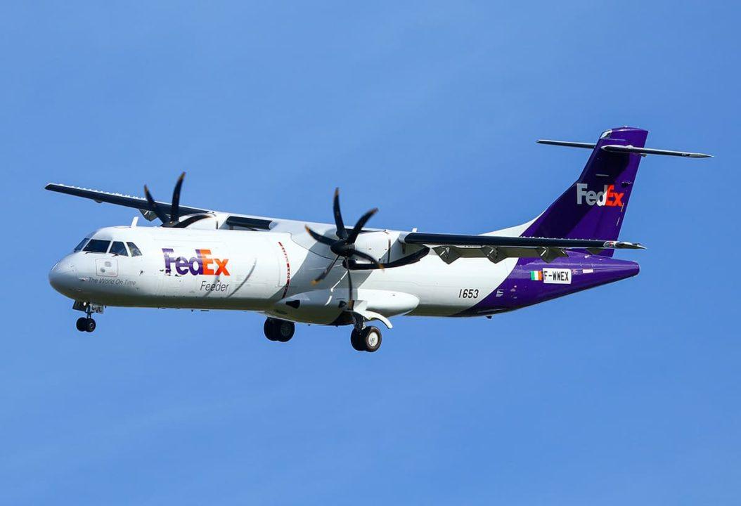 1er ATR72-600F FedEx en vol