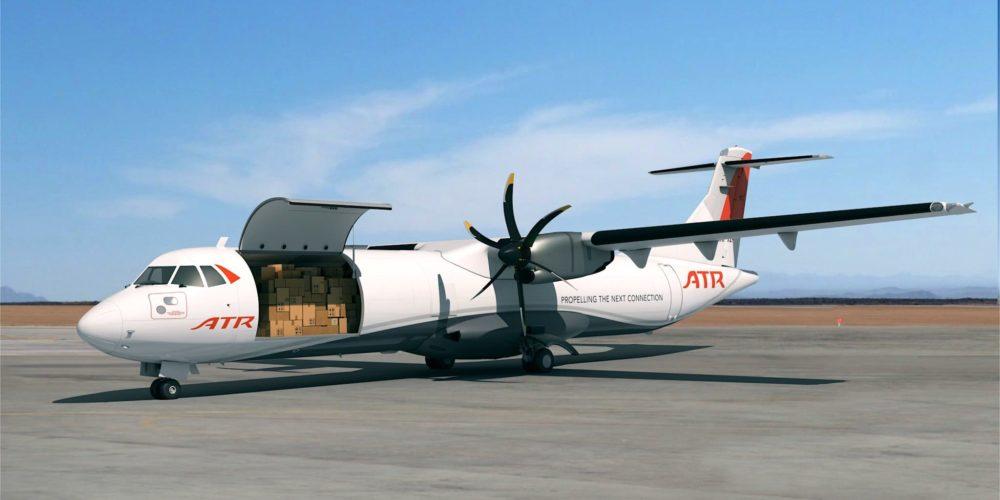 Vue 3D de l'ATR72-600