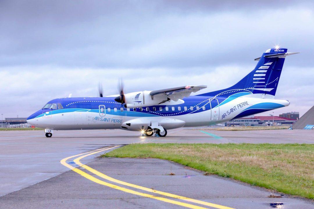 ATR42-600 Air Saint Pierre