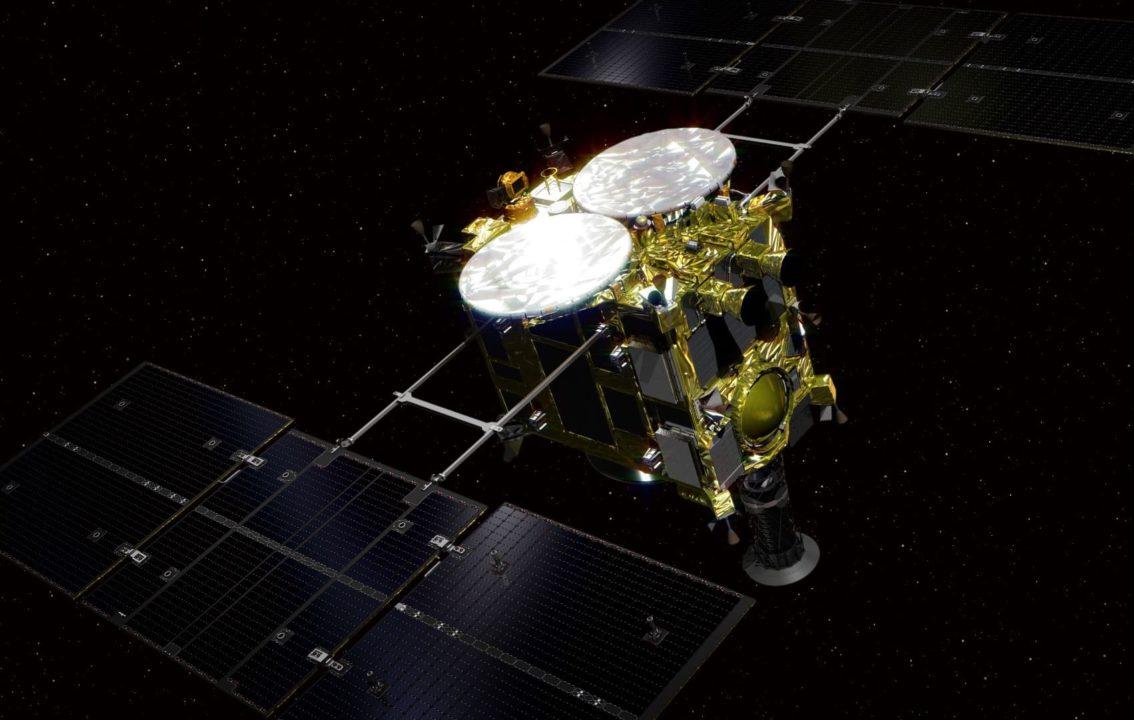 Vue 3D de la sonde Hayabusa2
