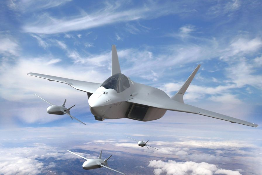 Projet d'avion de combat SCAF d'Airbus