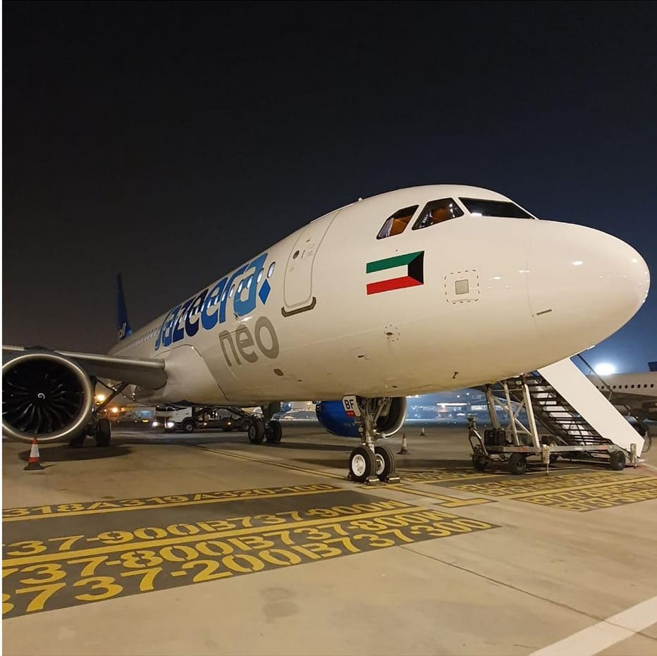 6eme Airbus A320neo Jazeera Airways