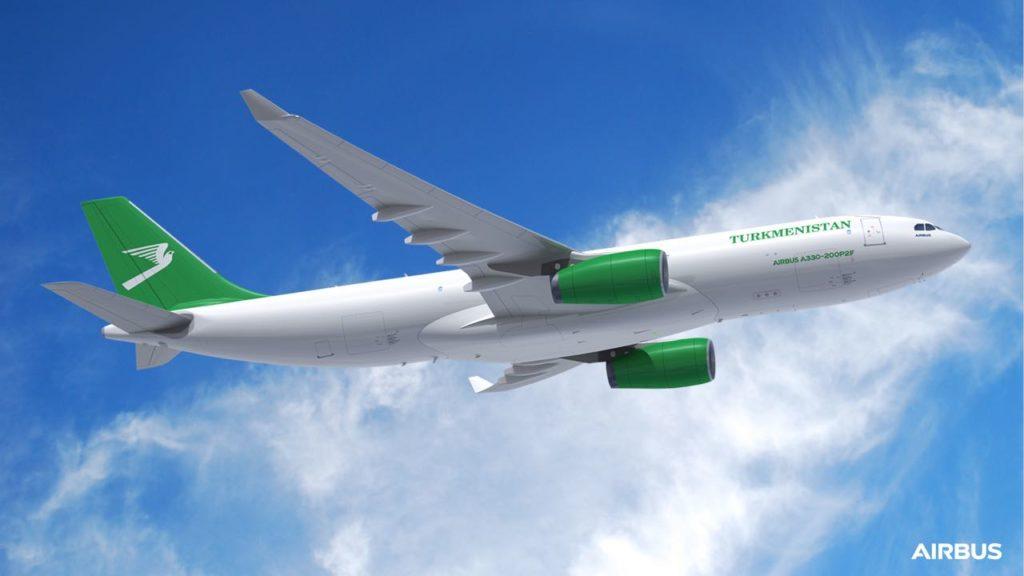 A330-200P2F Turkmenistan Airlines