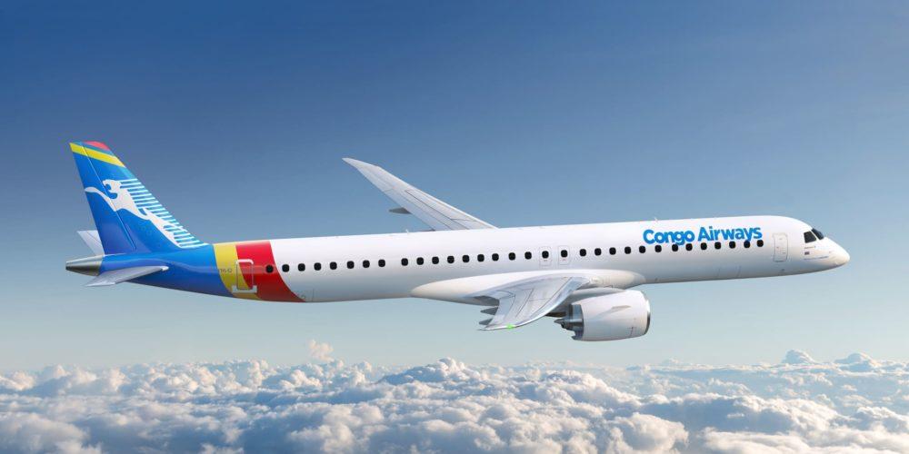 E195-E2 Congo Airways