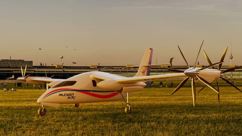 Alcyon M3c - avion régional à hydrogène de 6 places