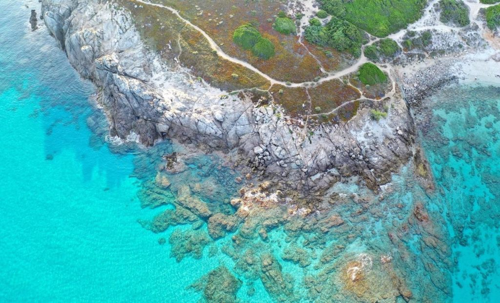 Eaux turquoises, Corse du Sud