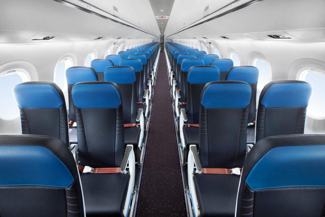 Cabine Eco E195-E2 KLM Cityhopper