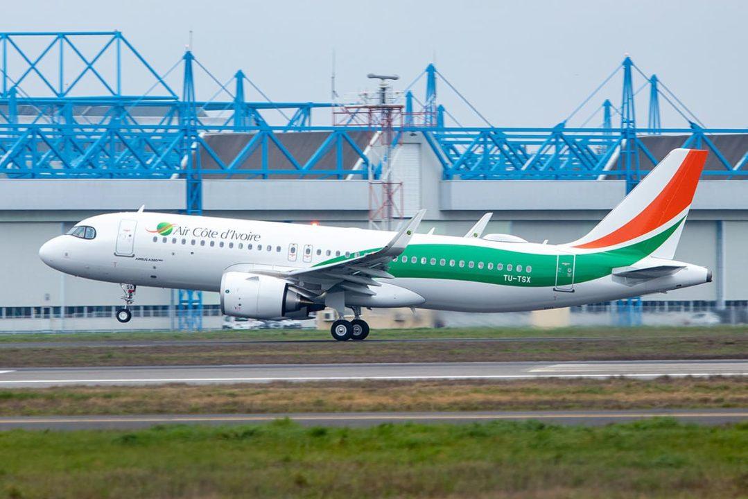 Air Côte d'Ivoire 1er Airbus A320neo TU-TSX