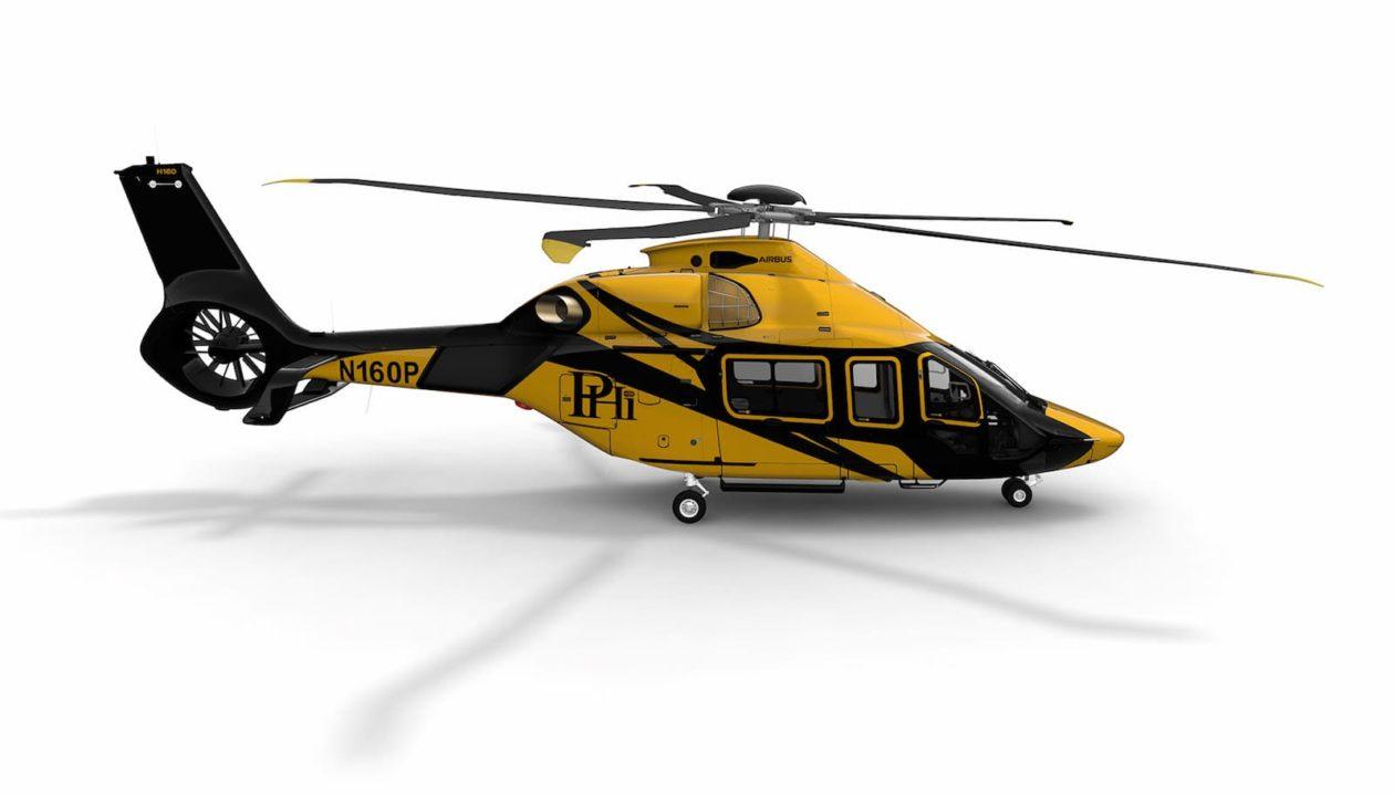 H160 opéré par PHI pour Shell