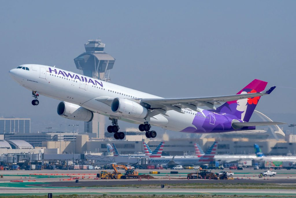 Hawaiian A330-200 (LAX)