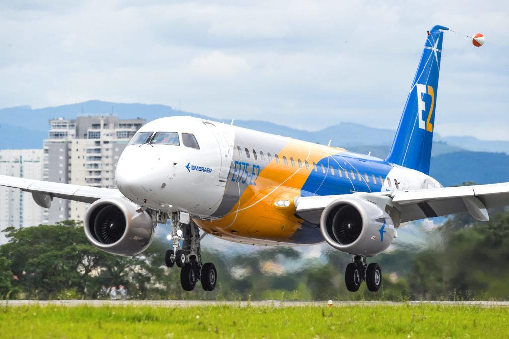 1er vol E195-E2