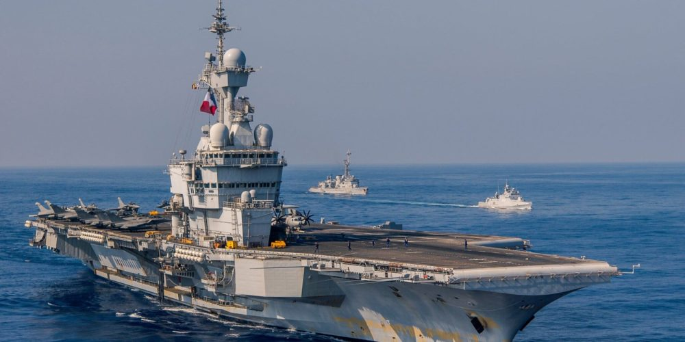 Porte Avions Charles de Gaulle - Marine Nationale
