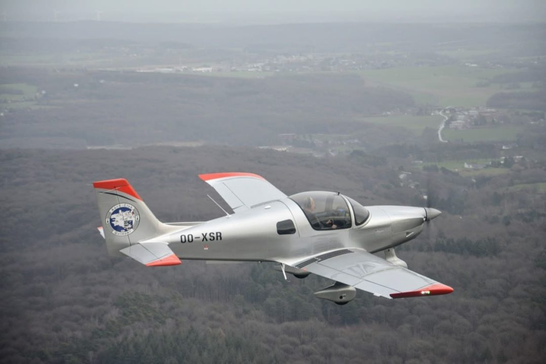 Le Sonaca 200 de l'aéroclub de Quimper