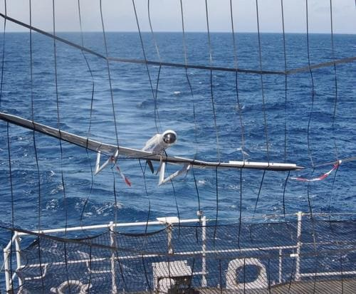 Retour de mission du drone Aliaca