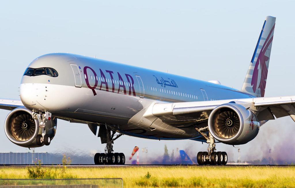 Qatar A350-1000 A7-ANN