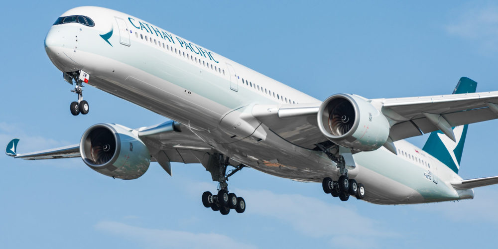 Airbus A350-1000 Cathay Pacific B-LXM / MSN380