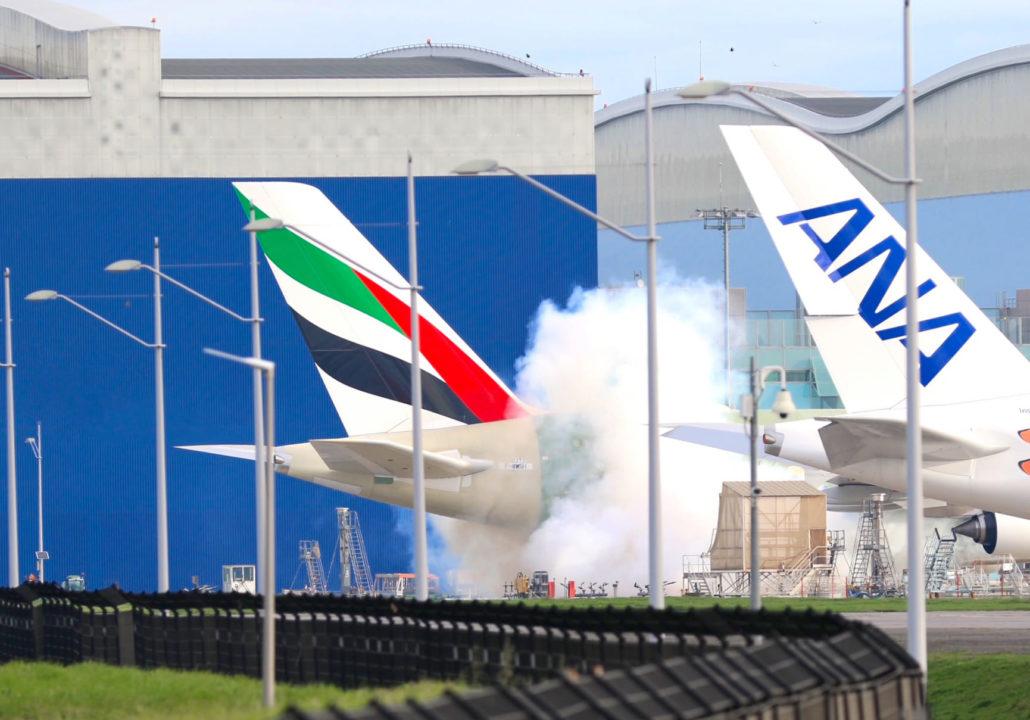 Dernier Airbus A380 Emirates MSN272
