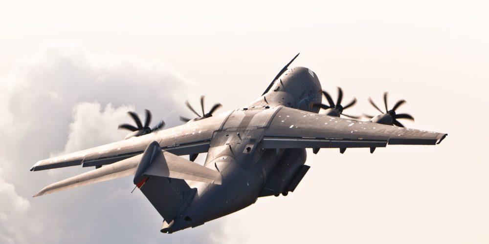 A400M en vol