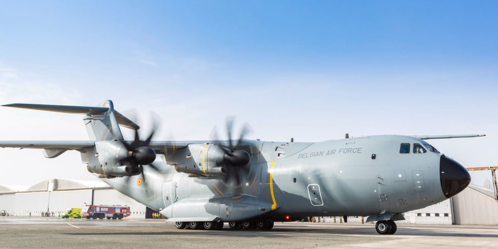 Belgian Air Force A400M CT-03 / MSN109