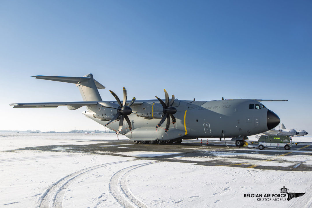 Belgian Air Force A400M CT-02 / MSN106