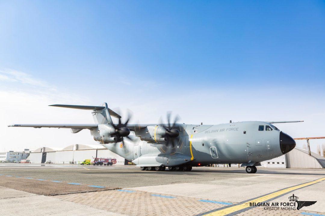 Belgian Air Force A400M CT-03 / MSN109