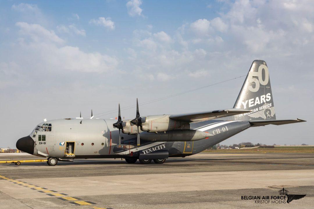 Lockheed C-130 Hercules Belgian Air Force CH01