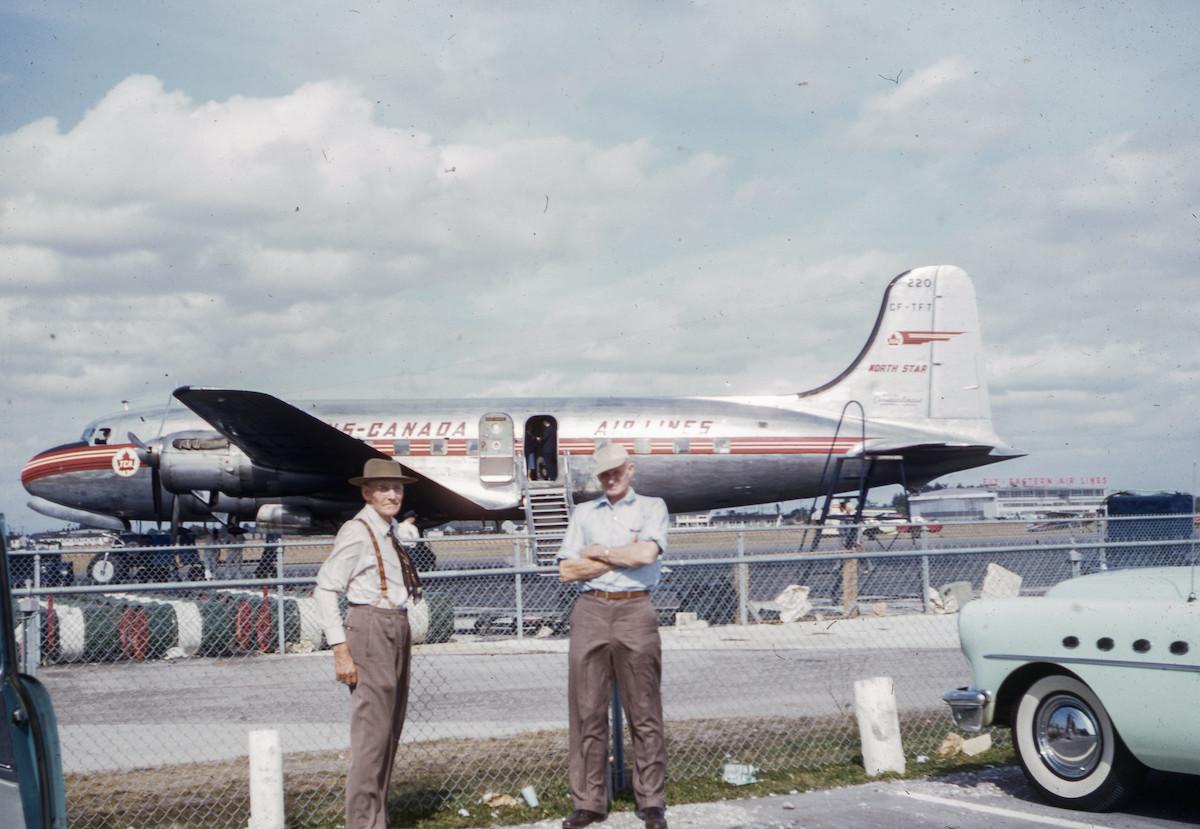 TCA Douglas DC-4M2 North Star