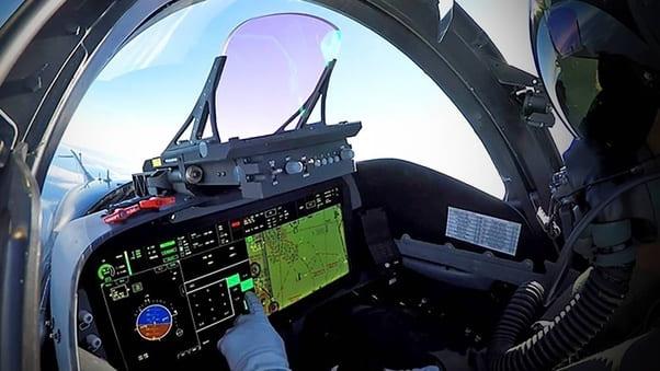 Cockpit du F-15EX