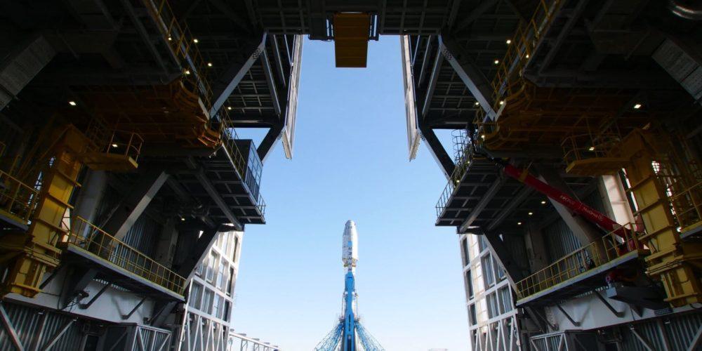 Soyuz ST30 sur son pas de tir