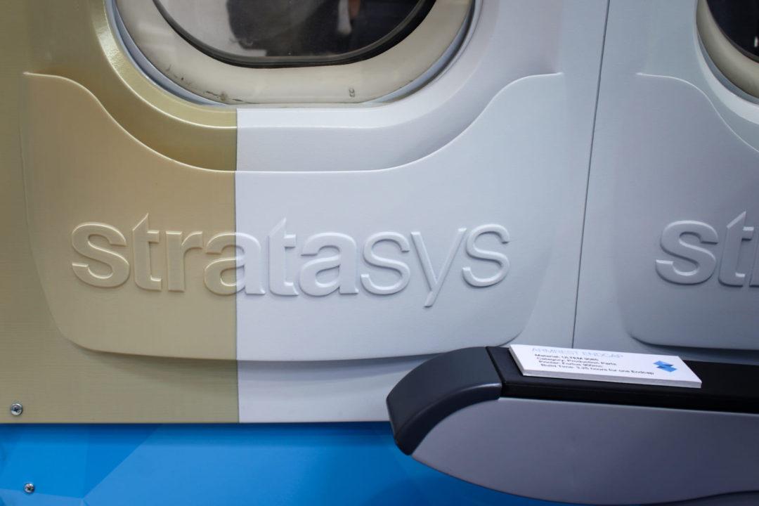 Panneau intérieur cabine avion