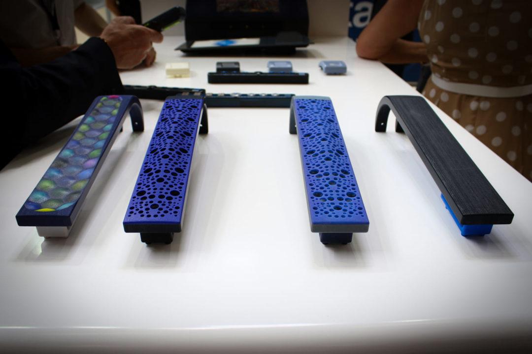 Accoudoirs de sièges imprimés en 3D