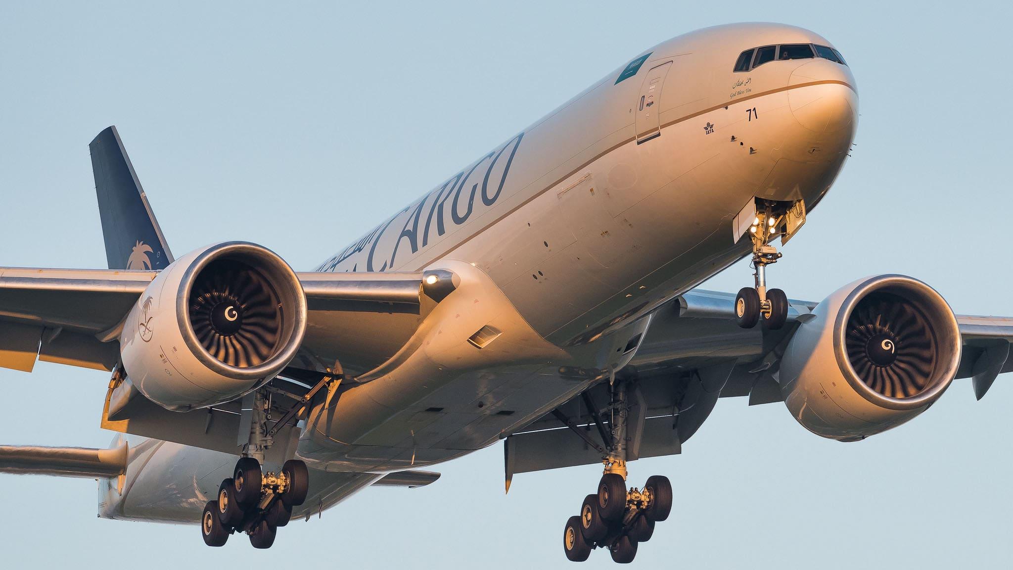 Boeing 777-FFG Saudia Cargo HZ-AK71