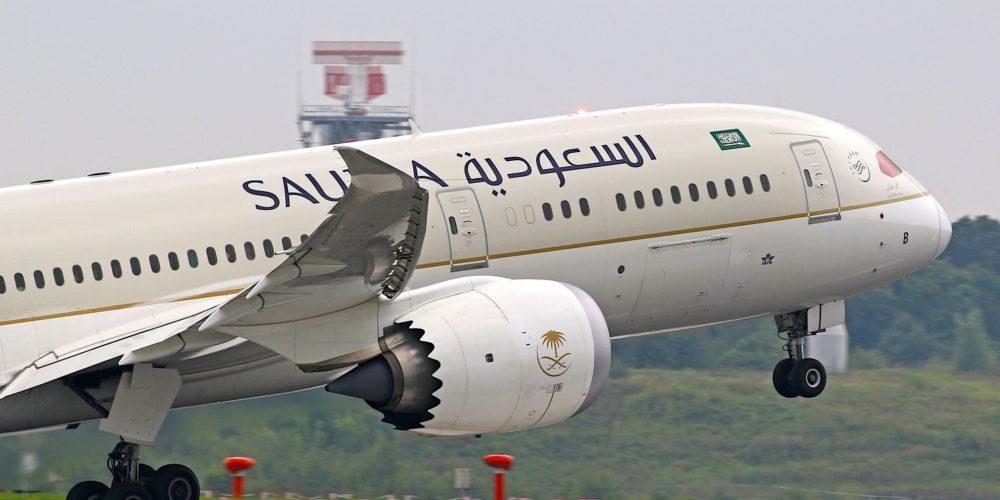Saudia B787 Dreamliner HZ-ARB