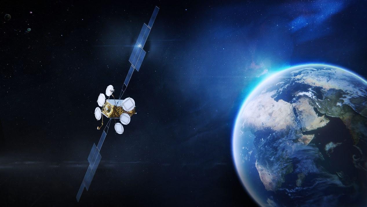 Vue d'artiste du satellite Eutelsat-36D