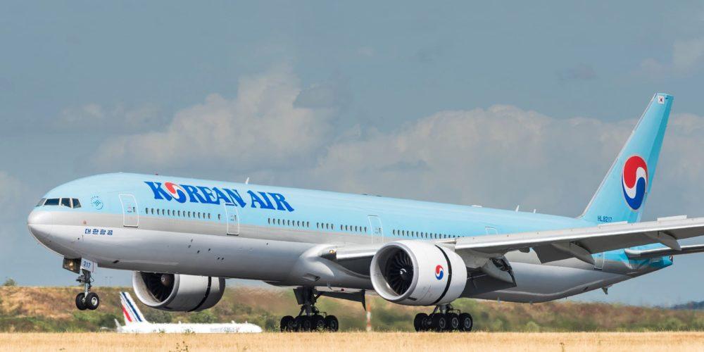 Boeing 777 Korean Air